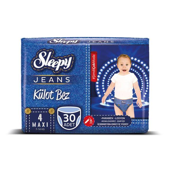 Sleepy Jeans KÜLOT Bez 4 Numara Maxi 30 Adet
