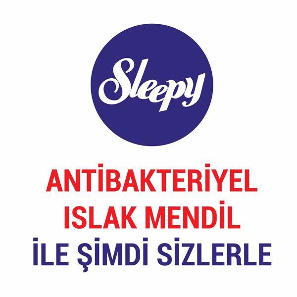 Sleepy Antibakteriyel Islak Havlu 2X50