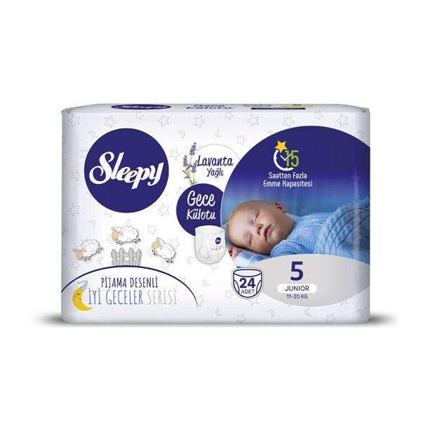 Sleepy Gece Külotu 5 Numara Junıor 24 Adet