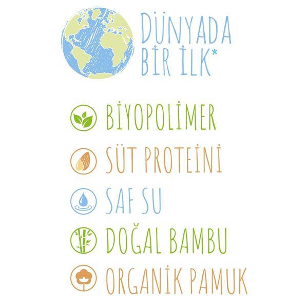 Bio Natural Islak Havlu 12X40 (480 Yaprak)