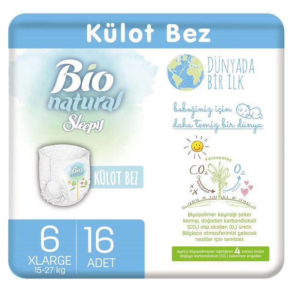 Bio Natural Külot Bez 6 Numara Xlarge 16 Adet