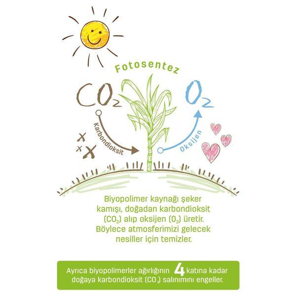 Bio Natural Külot Bez 6 Numara Xlarge 96 Adet