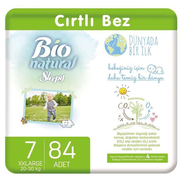 Resim Bio Natural Bebek Bezi 7 Numara Xxlarge 84 Adet