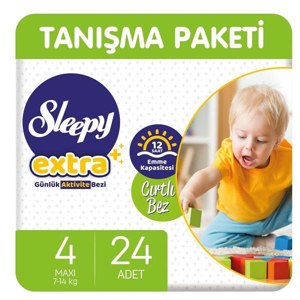 Sleepy Extra Günlük Aktivite Bezi 4 Numara Maxi 24 Adet