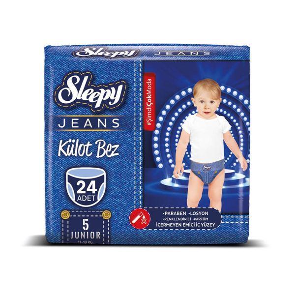 Sleepy Jeans KÜLOT Bez 5 Numara Junior 24 Adet