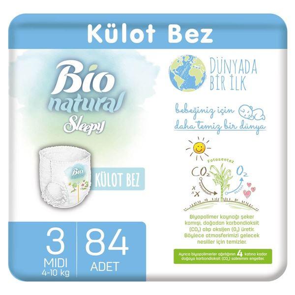 Bio Natural Külot Bez 3 Numara Midi 84 Adet