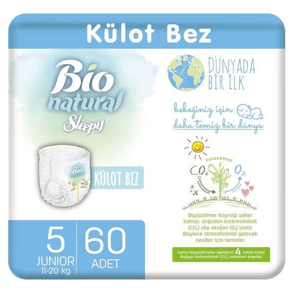 Bio Natural Külot Bez 5 Numara Junior 60 Adet