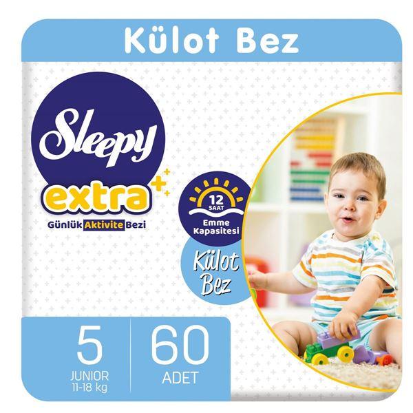 Sleepy Extra Günlük Aktivite Külot Bez 5 Numara Junior 60 Adet