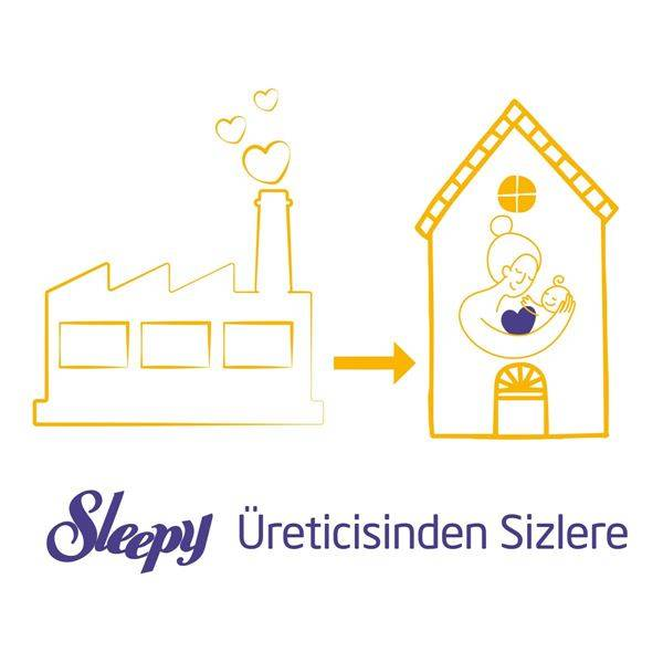 Sleepy Extra Aylık Fırsat Paketi Günlük Aktivite Külot Bez 5 Numara Junior 120 Adet